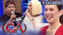 Vice puts Didong and Karylle in hot seat | It's Showtime Mr. Q and A
