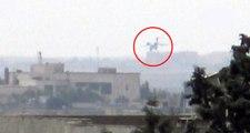 11 kişinin öldüğü saldırıların yapıldığı Kamışlı'ya inen uçak böyle görüntülendi