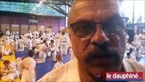 Teddy Riner aux 60 ans du Judo club mauriennais