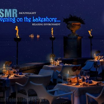 Put one Evening on the Lakeshore #ASMR #Moonlight  Relaxing Environment