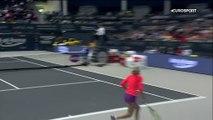 Un début raté puis du bon tennis : Ostapenko s'offre une finale face à Gauff