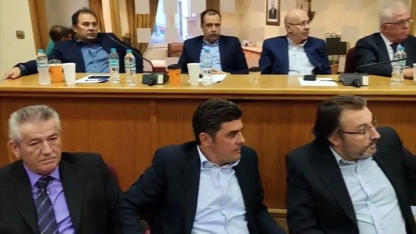 Η Ντόρα Μπακογιάννη στην 6η Συνεδρίαση του Περιφερειακού Επιμελητηριακού Συμβουλίου Στερεάς στο Καρπενήσι
