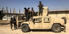 Teröristler ABD'nin verdiği milyonluk araçları bırakıp kaçtı