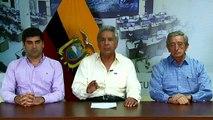 Revive diálogo en Ecuador, Moreno declara militarización de Quito