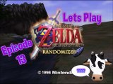 Lets Play - Legend of Zelda - Ocarina of Time Randomizer Cowsanity Edition - Episode 13 - Young Link Spirit Temple Section
