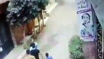 شاهد.. راجح قاتل.. فيديو واقعة التحرش بالفتاة ودفاع محمود البنا عنها بالمنوفية