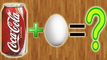 Что будет, если опустить яйцо в Coca-Cola