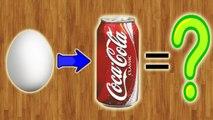 Что будет, если опустить яйцо в Coca-Cola на 6 месяцев