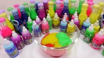 Mixing Slime Water Clay Kids Play And Learn Colors Surprise Eggs Toys For Kids