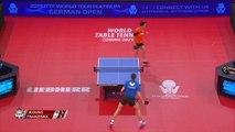 Jeoung Youngsik vs Patrick Franziska | 2019 ITTF German Open Highlights (1/4)