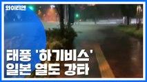 950mm 폭우에 초강풍...태풍 하기비스에 日 피해 속출 / YTN