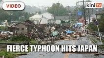 Tokyo paralysed by fierce typhoon