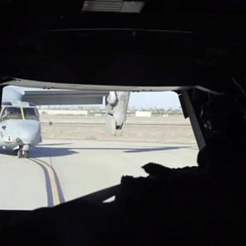 MV-22B Osprey Operations • Crew View
