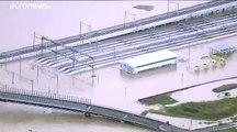 """Taifun """"Hagibis"""" hinterlässt Spur der Verwüstung in Japan"""