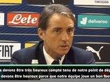 "Italie - Mancini : ""Profitons de ce moment"""