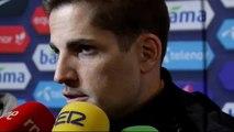 """Robert Moreno tras el empate ante Noruega: """"No me puedo ir contento"""""""