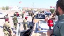 Kürt şahinleri tugayından 160 askere resulayn!a dağru yola çıktı