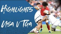 USA v Tonga - Highlights