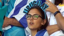 Uruguay sing national anthem with incredible passion