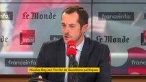"""Nicolas Bay juge """"inutilement blessants et agressifs"""" les propos de l'élu RN au conseil régional de Bourgogne-Franche-Comté qui a enjoint à une mère d'élève accompagnant une sortie scolaire de """"bien vouloir retirer son voile islamique"""""""