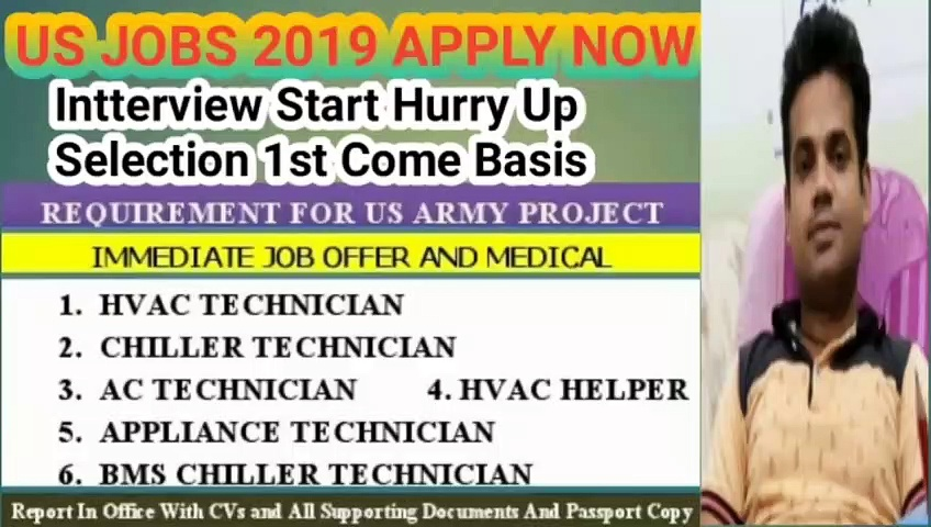 US RECRUITMENT FOR INDIAN ARMY POST APPLY NOW 2019/USA BHARTI RECRUITMENT FOR THE POST OF INDIAN ARMY 2019/MEGA BHARTI IN ABROAD FOR INDIAN MALES 2019/USA ABROAD JOBS SELECTION ON INTERVIEW BASIS 2019/LIKE GOVT  JOBS ALL BENEFITS AND ACCOMMODATION