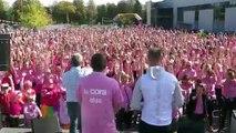 Plus de 1000 participants ce dimanche matin à la Cora Rose