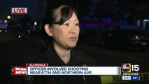 Officer-involved shooting investigation at 68th and Northern avenues