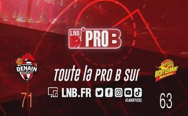 PRO B : Denain vs Vichy-Clermont (J1)