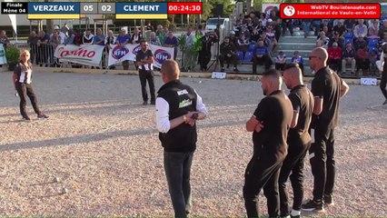 Finale de l'International à pétanque de Vaulx-en-Velin 2019 : VERZEAUX vs CLEMENT