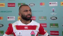 Japan Captain Michael Leitch speaks after huge win for Japan