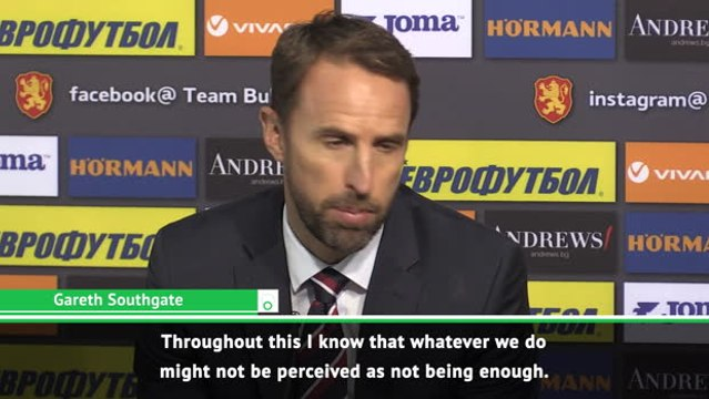 If anything happened in the second half we were coming off - Southgate