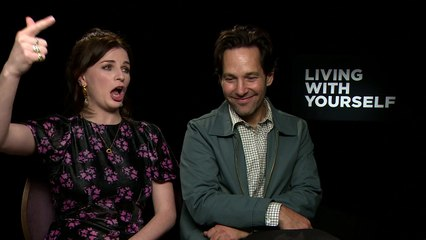 Aisling Bea & Paul Rudd laugh through their nose!