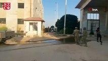 Tel Abyad gümrük kapısı görüntülendi