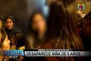 La Victoria: angustiados padres denuncian desaparición de su hija de 6 años