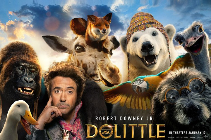 Dolittle Trailer (2020) Comedy Movie
