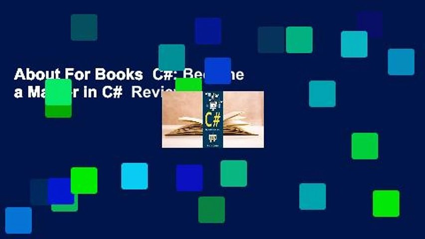 About For Books  C#: Become a Master in C#  Review