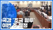 국정감사 '조국 공방' 이번 주 절정...오늘 중앙지법·내일 법무부 / YTN