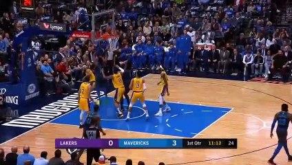 NBA 2018-19 - LA Lakers vs Dallas Mavericks - 01_07_2019 - Highlights