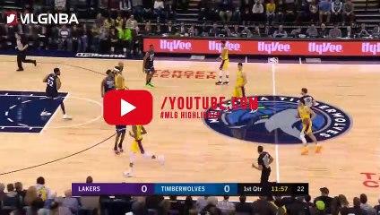 NBA 2018-19 - LA Lakers vs Minnesota Timberwolves - 01_06_2019 - Highlights