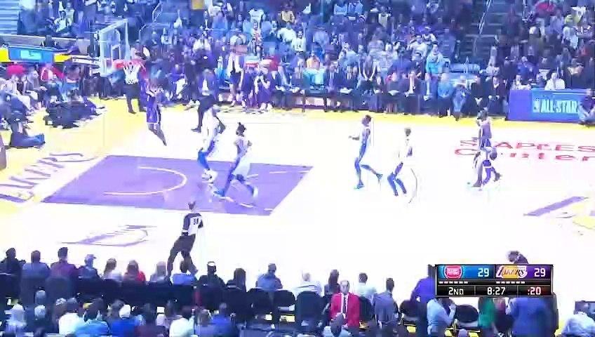NBA 2018-19 - Los Angeles Lakers vs Detroit Pistons - 01_09_2019 - Highlights