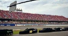 Talladega race to resume Monday