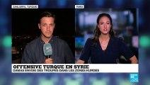 Offensive turque en SYRIE : Alliance de circonstance entre l'armée syrienne et les milices kurdes