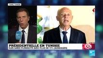 """Présidentielle en Tunisie : """"Peu auraient parié sur une victoire de Kaïs Saïed il y a 1 mois"""""""