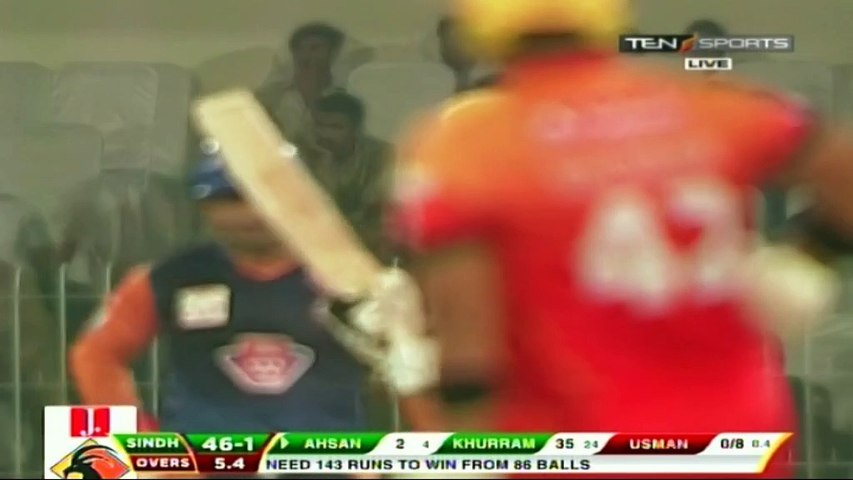 Usman Qadir 2/30 for Central Punjab vs Sindh in National T20 Cup 2019/20