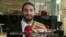 سيث رولينز بطل العالم في مصارعة WWE يكشف عن إعجابه بالسعودية وفريقه المفضل وحلمه الشخصي