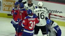 Moncton Wildcats 9, Saint John Sea Dogs 0
