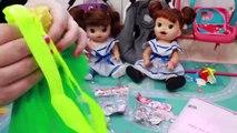 Diana y Sara Baby Alive se disfrazan de HADAS
