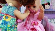 Diana cuida de Baby Born Kelly en BB Juguetes