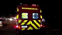 Motociclista fica ferido em acidente de trânsito no Bairro São Cristóvão