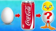 ЯЙЦО пролежало в Кока-Коле 2 ГОДА! Что с ним стало Coca cola